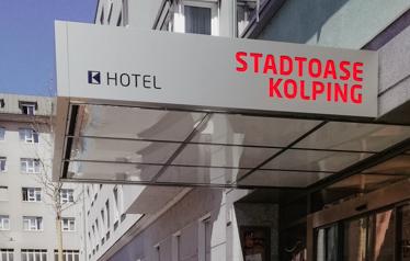 Stadtoase Kolping - Über Uns - Aussenansicht